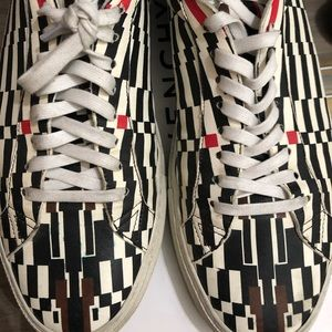 Used Givenchy Men's Lambskin sneakers size 45
